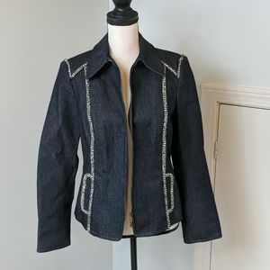 Worth Lined Denim Jacket